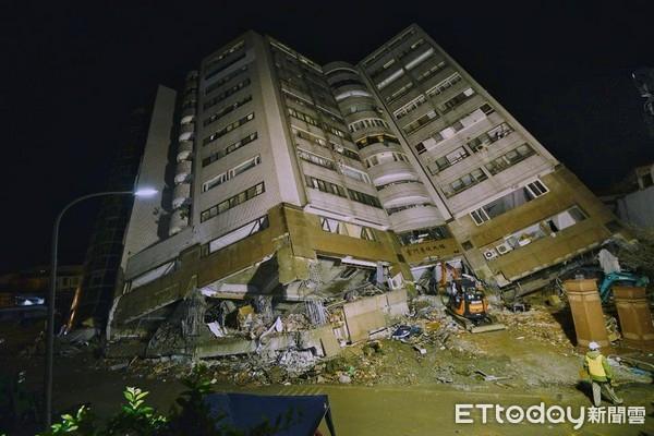 台灣花蓮地震已致11人遇難 雲翠大樓發現一具遺體