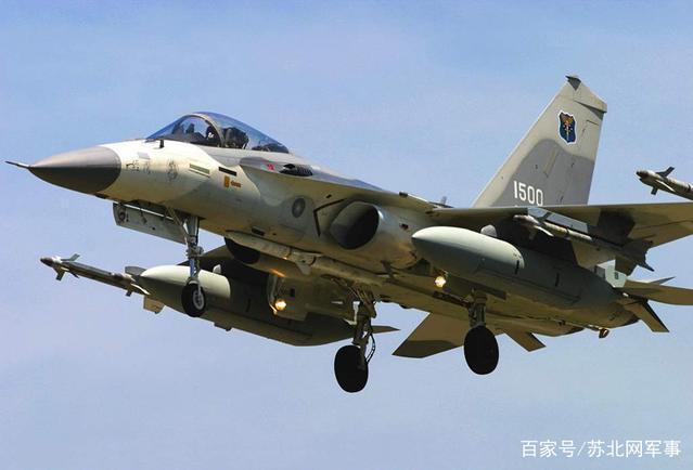 中国台湾空军的现役主要作战飞机有哪些型号