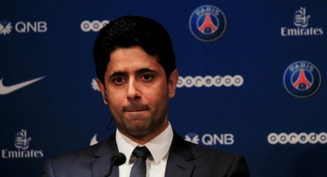 巴黎圣日耳曼主席纳赛尔被控行贿,其律师发声