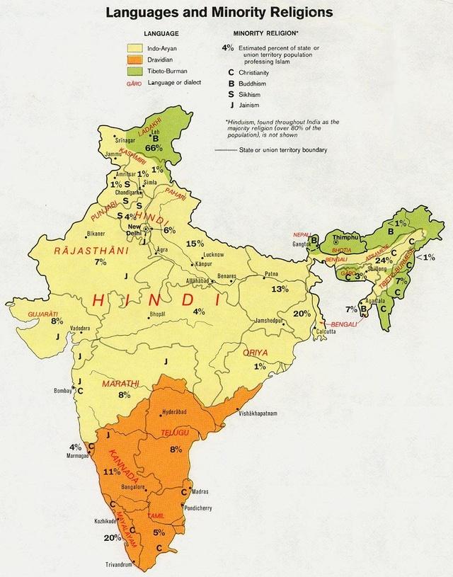 支持印度东北各邦独立也是不错的选择?看网友
