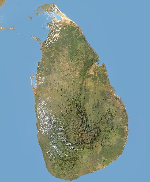 世界上人口数量最多的十个岛屿之一:斯里兰卡