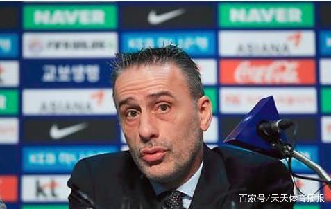 韩国队主教练两句话对比中韩足球,中国球迷颜