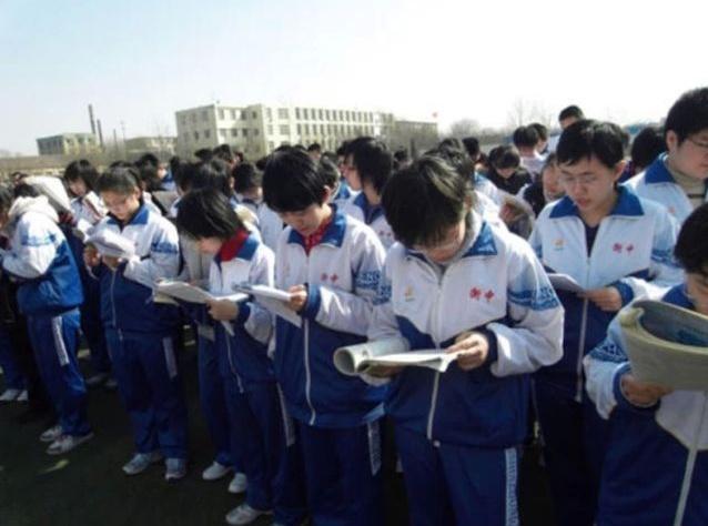 衡水中学中国式跑操,已经沦为应试教育应付任