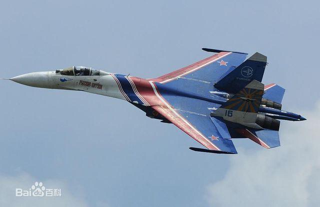 苏-37战斗机机动性能好,并具有超视距作战能力