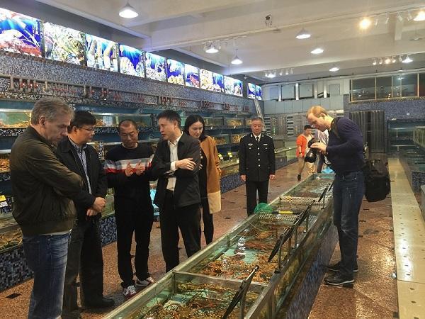 农业部渔业渔政管理局调研厦门水产工作