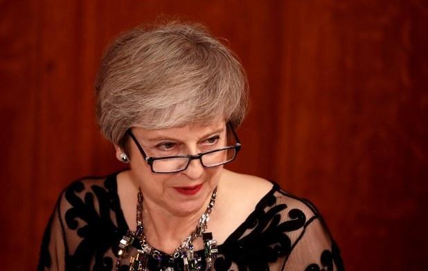 英媒:首相特雷莎・梅在内阁仅剩两名支持者,或被本党赶下台