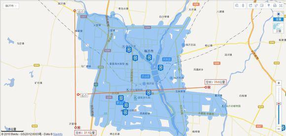 山东省17城市城区面积排行榜,青岛第一,临沂第