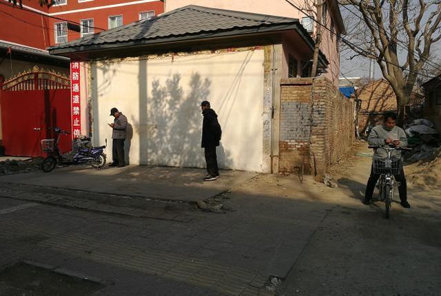 永华南路小学旁的违建麻将馆拆完了!