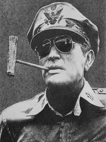 美国上将麦克阿瑟,问裕仁天皇日本如何承担责