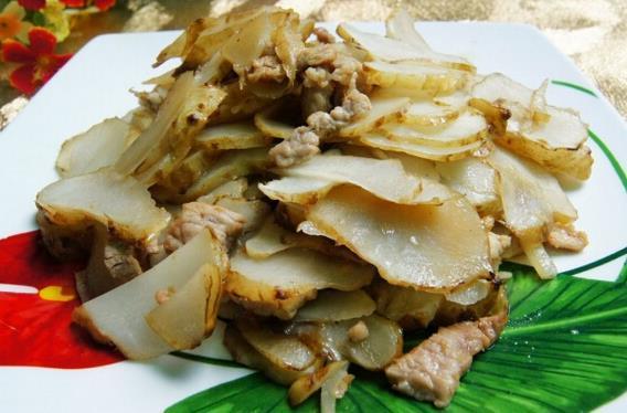 农村野味鬼子姜,种一次吃三年,做成咸菜超级