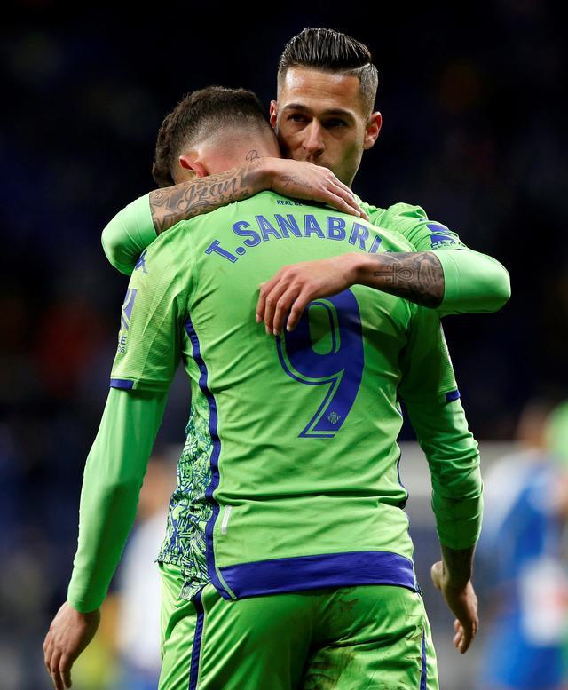 足球--国王杯:西班牙人战平贝蒂斯