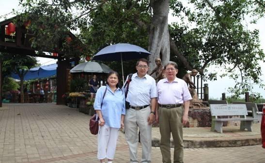 台湾抗日志士亲属协进会海南参访团访琼