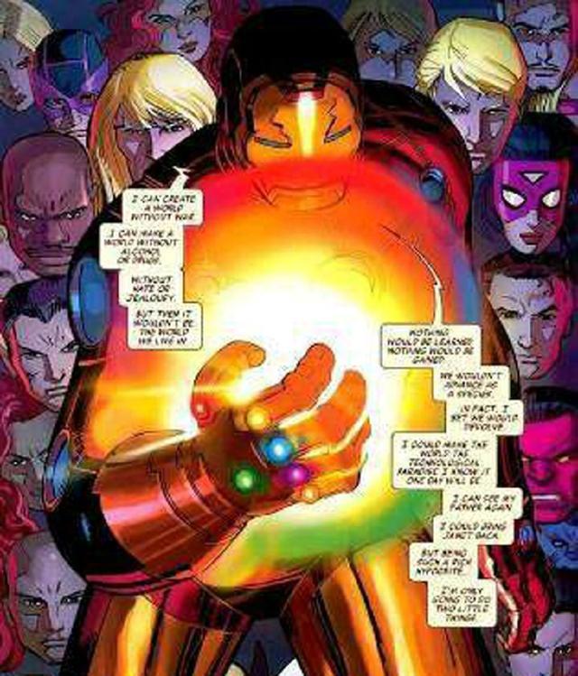 《复联4》打败灭霸的关键:钢铁侠有可能研发最