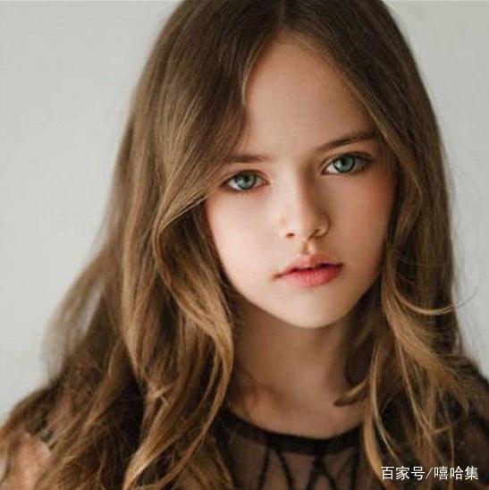 她是世界最美的少女,九岁成为国际模特,五官