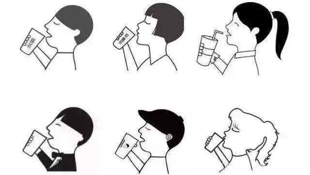喜茶logo的山寨变种