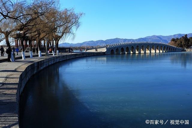 北京颐和园景点介绍:廓如亭,昆明湖,别提有多