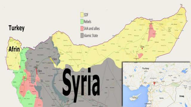 親敘政府武裝集結 等命令進阿夫林對抗土軍
