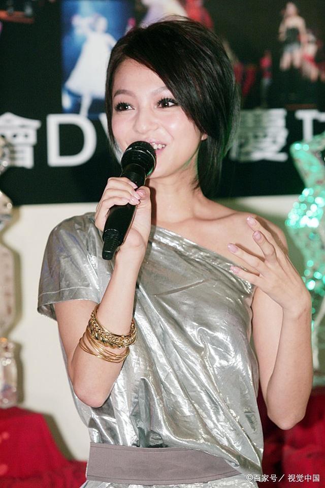 张韶涵,网友喊她励志女神!