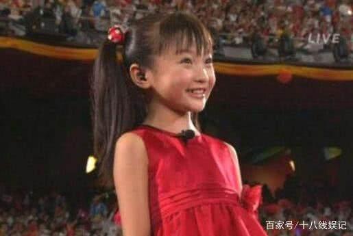 还记得08年奥运会上的小女孩林妙可吗?如今美