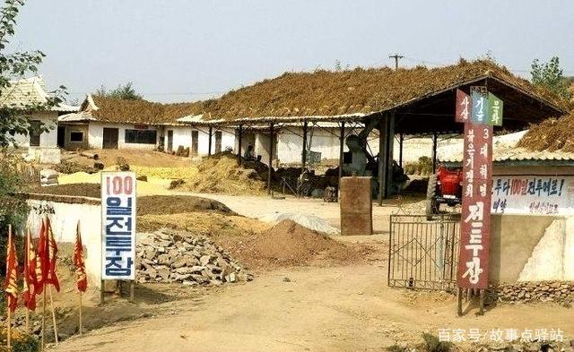实拍朝鲜农村现代生活,土瓦房,老电话,水平堪比
