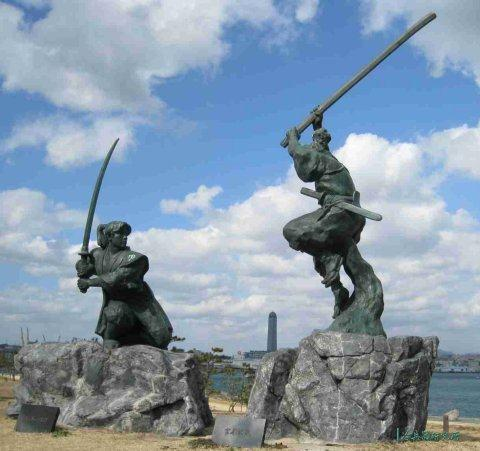 中国最强武将对战日本头号剑客,谁才是东亚战