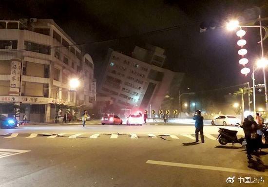 北京遊客講述台灣地震:睡着被震醒 逃生樓梯變形