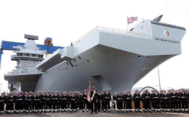 英国砸锅卖铁也要造航母,没钱买舰载机,刚出