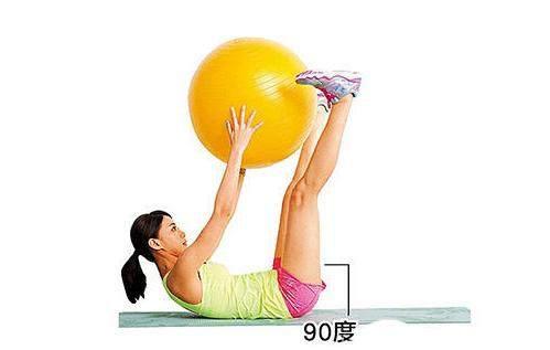 教你几个瑜伽球的入门动作!
