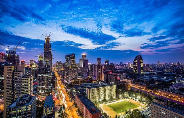 2018中国大陆城市综合实力TOP10