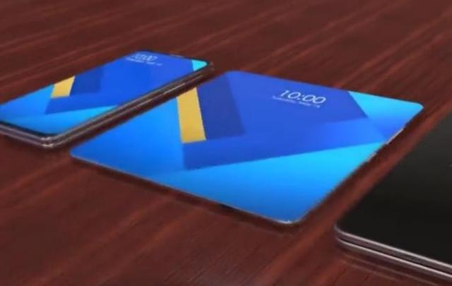 柔性手机屏,可以折叠的手机屏幕,你见过吗?