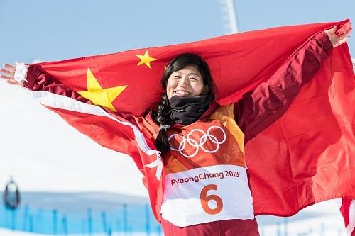 中國贏得平昌冬奧會首枚獎牌 劉佳宇單板滑雪摘銀