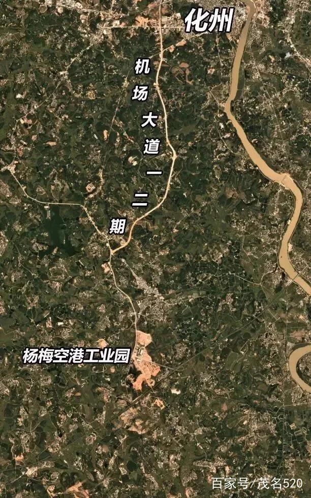 广东化州未来城市发展所向:机场快线,打造粤西