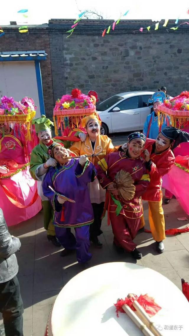 东于镇2018年迎鼓架火文化节活动安排