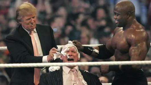 作为美国总统的特朗普,为什么会去WWE打擂台