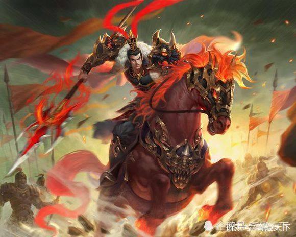 中国古代五大用戟猛将,三国有两人上榜,一人堪