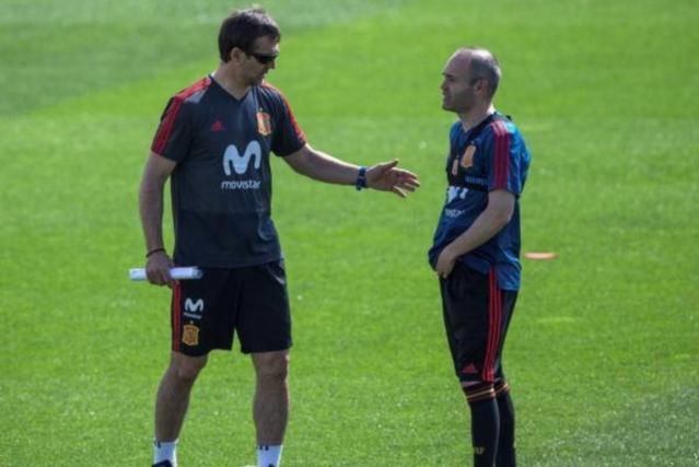 2018足球世界杯西班牙主教练遭解雇:洛佩特吉