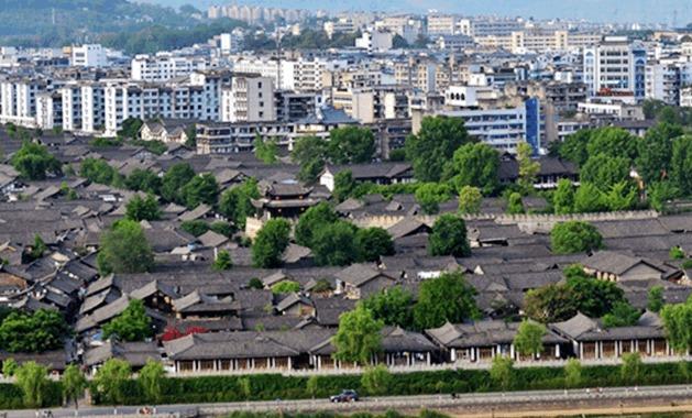 四川省曾经的省会 被称为风水第一城 为何沦为