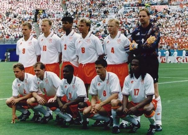94年世界杯的荷兰队虽输掉这场比赛,却让世人