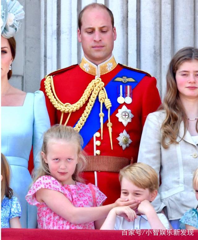 安妮公主的孙女萨凡娜除了有点皮之外,其实也