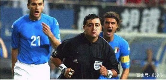 2002年世界杯韩国淘汰意大利!历史最黑黑哨1